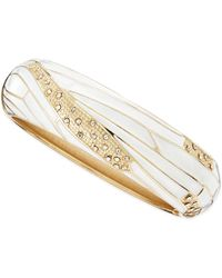 Sequin - Wide Insect-Wing Bangle - Lyst