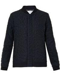 Julien David | Wrinkled-Cotton Bomber Jacket | Lyst