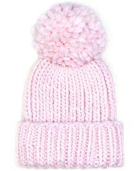 Eugenia Kim Rain Knit Hat with Pompom - Lyst