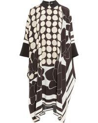 Issa Maya Printed Silk Dress - Lyst