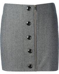 Stella McCartney Tweed Skirt - Lyst