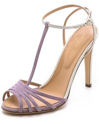Sergio Rossi Shadows Sandals - Lilac Blush - Lyst