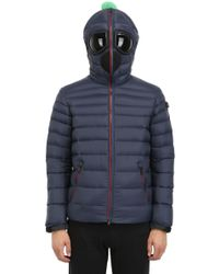 Ai Riders On The Storm Zip Up Nylon Micro Ripstop Down Jacket - Lyst