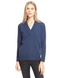 Burberry Brit - Cashmere V-neck Sweater - Lyst