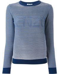 Kenzo Logo Striped Sweater - Lyst