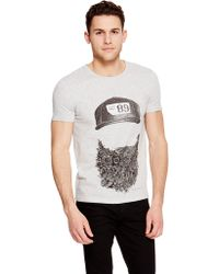 DKNY -International- Jeans Beard Tee - Lyst