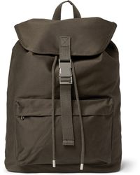 A.P.C. Cottoncanvas Backpack - Lyst