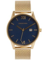 Unknown - The Dandy Gold Tone Watch - Lyst