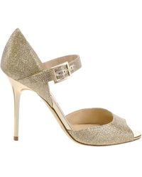 Jimmy Choo Gold Lace - Lyst