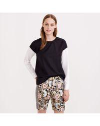 J.Crew Collection Floral Tweed Bermuda Short - Lyst