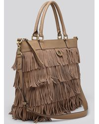 Tory Burch Tote  Fringe - Lyst