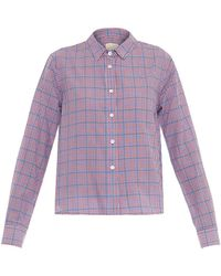 Band of Outsiders - Summer Checked Box-fit Shirt - Lyst