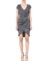 French Connection Fast Summer Space-Dyed Dress - Lyst