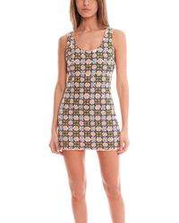 Pia Pauro Embroidered Dress - Lyst