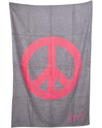 Lucien Pellat Finet - Peace Beach Towel - Lyst