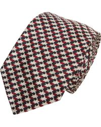 Black Fleece By Brooks Brothers - Houndstooth Woven Tie - Lyst