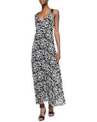 A.L.C. Patti Sleeveless Fan-Printed Dress - Lyst