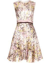 Giambattista Valli Printed Silk Dress - Lyst