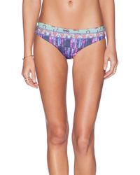 Maaji Pineapple Stakes Bikini Bottom - Lyst