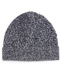 Theory - Cannan Wool Beanie Hat - Lyst