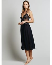 Intimately - Scandelous Corset Slip - Lyst