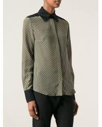 Jonathan Saunders Check Print Shirt - Lyst