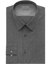 Calvin Klein Extreme Slim Fit Tonal Stripe Dress Shirt - Lyst
