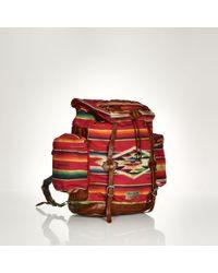 Polo Ralph Lauren Serape Nylon Backpack - Lyst
