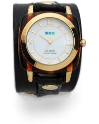 La Mer Collections - Tortoise Wrap Watch - Lyst