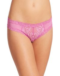 Natori Foundations - Feathers Lace Hipster - Lyst