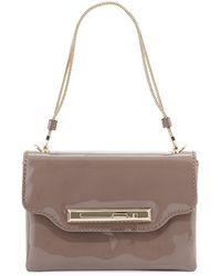 Valentino Patent Leather Crossbody Bag - Lyst