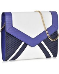 Juicy Couture - Colorblock Sophia Leather Ipad Clutch - Lyst