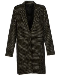 Cutie Black Full-Length Jacket - Lyst