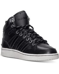 Adidas Mens Vlneo Hoops Premium Casual Sneakers From Finish Line - Lyst