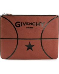 Givenchy Basketball Clutch - Lyst
