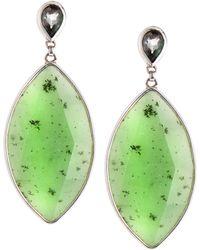 Stephen Dweck - Jade Marquise Pear Earrings - Lyst