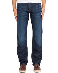 7 For All Mankind Blue Standard - Lyst