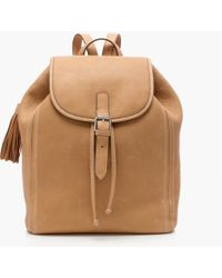 J.Crew - Leather Backpack - Lyst