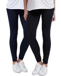 Topshop | Ankle Maternity Leggings, (fits Like 0-2) | Lyst