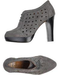 Lola Cruz Laceup Shoes - Lyst