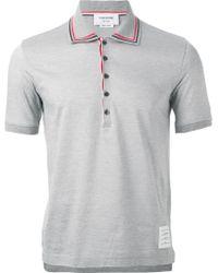 Thom Browne Polo Shirt - Lyst