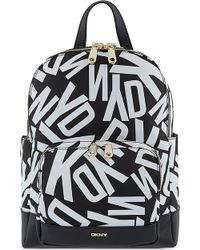 DKNY Scatter Print Backpack Logo - Lyst
