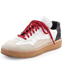 Alexander Wang - Eden Colorblock Runway Low-top Sneaker - Lyst