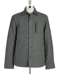 Victorinox - Quilted Cotton Coat - Lyst