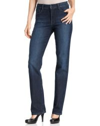 Not Your Daughter's Jeans Nydj Marilyn Straightleg Jeans Burbank Wash - Lyst