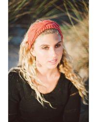 Elizabeth Koh - Orange Knit Headband - Lyst
