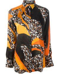 Acne Studios Multicolor Printed Shirt - Lyst