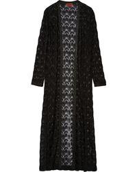 Missoni Crochet-knit Cardigan - Lyst