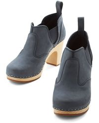Swedish Hasbeens Nothing Compares To Blue Bootie - Lyst
