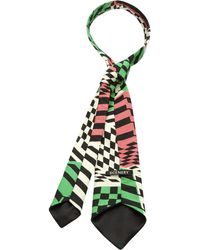 Scenery Label - Chequer Man Tie - Lyst